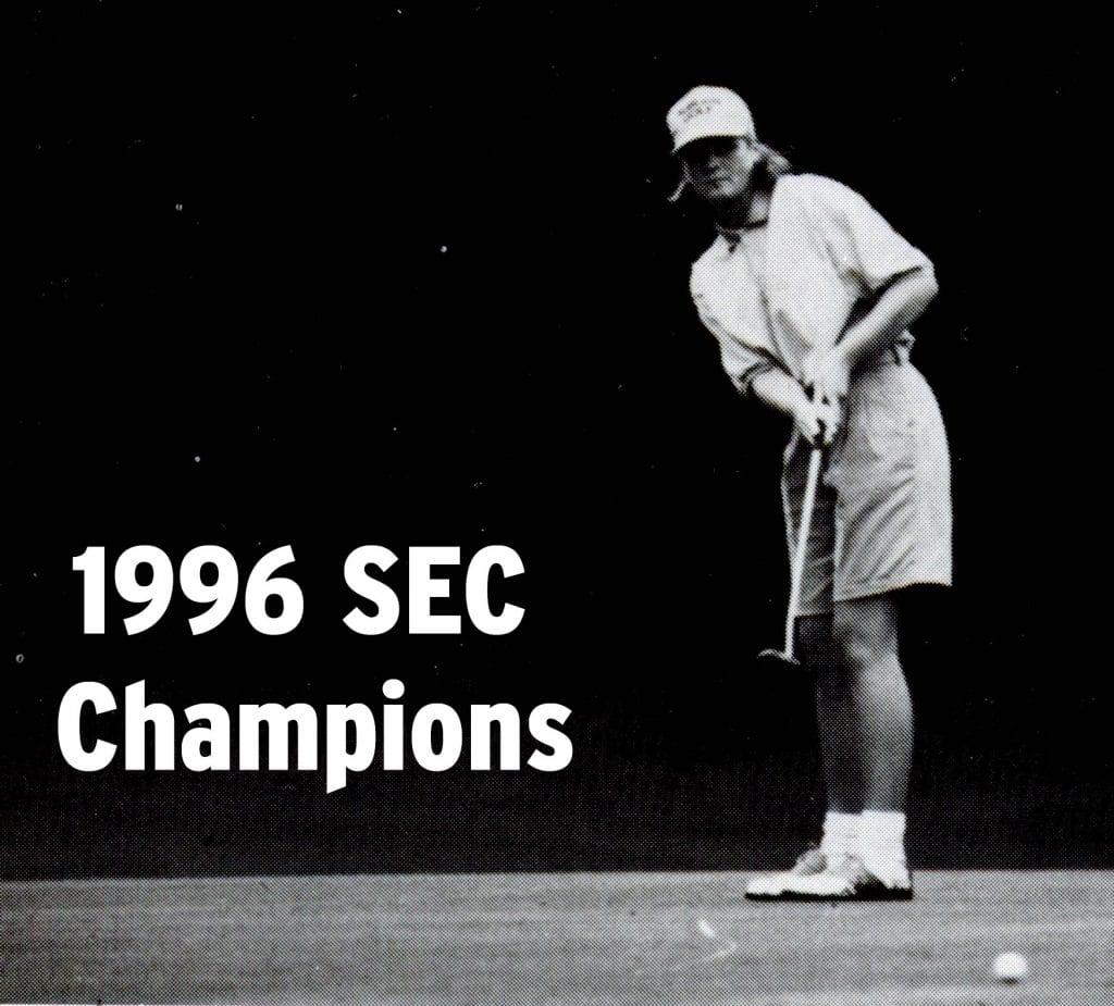 Women's Golf SEC Champions-1996
