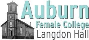 Auburn Female College Langdon Hall