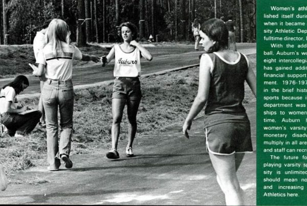 Lady Running cross country