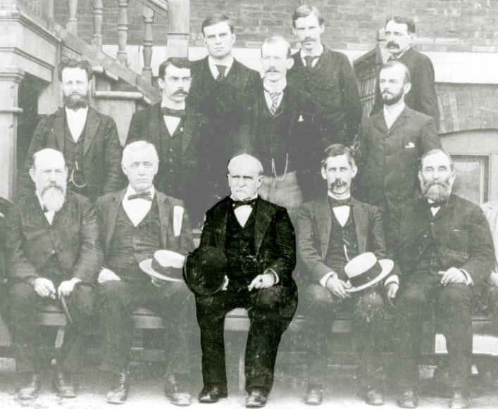 Early 1900 faculty photo