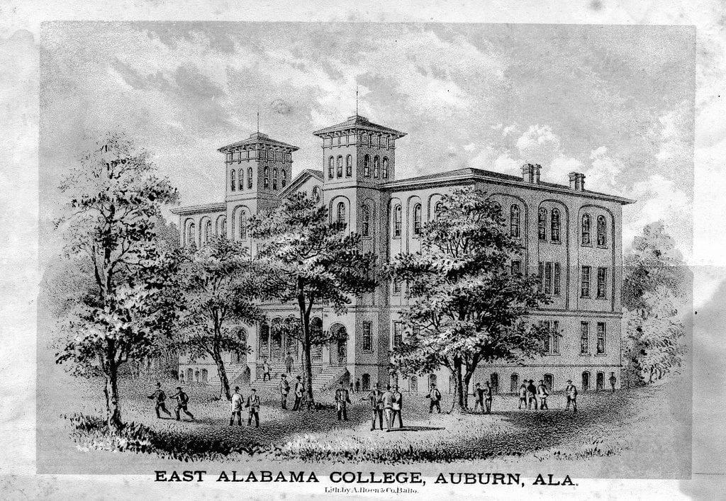 East Alabama Male College Old Photo