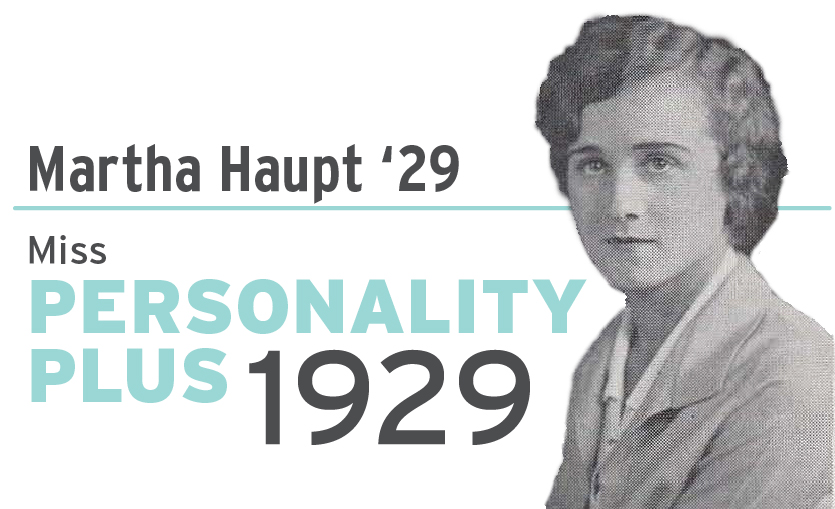 Martha Haupt Miss Personality Plus