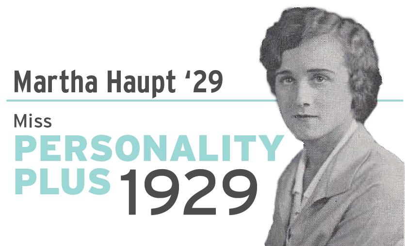 Martha Haupt Miss Personality Plus