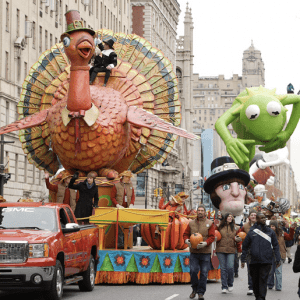 Macy's Thankgiving Day Parade float