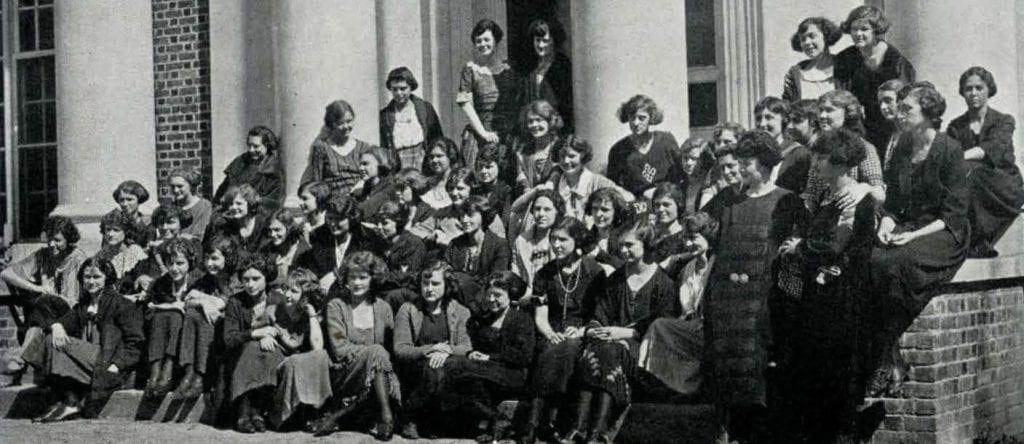 Womens SGA inaugural class group photo
