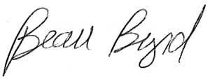 Beau Byrd Signature