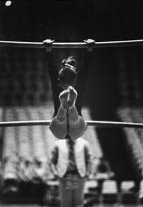 Women's Gymnastics- Bar Routine