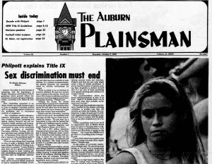 Plainsman editorial