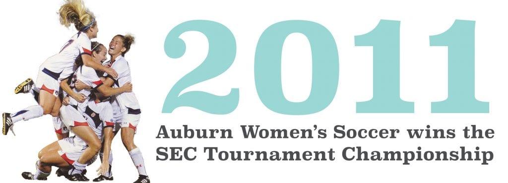 Womens Soccer Wins 2011 SEC title