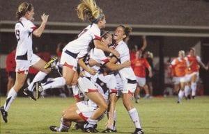 Women's Soccer Regular Season SEC Title Winners- 2011