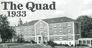 photo of the quad with samford in the background
