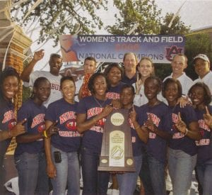 2006 Women's Track and Field National Champions