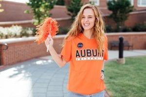 Girl with Auburn Shaker