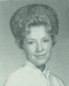 Photo of gayle culver hammitt in 1964