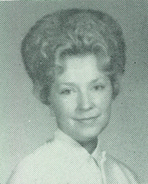 Photo of gayle culver hammitt in 1964