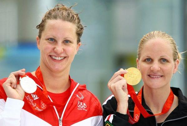 margaret hoelzer with her medal