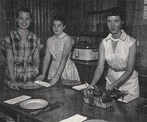 Home ec three ladies