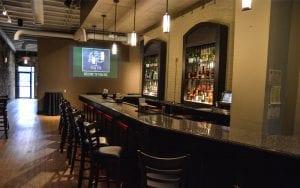 Inside of Park Bar