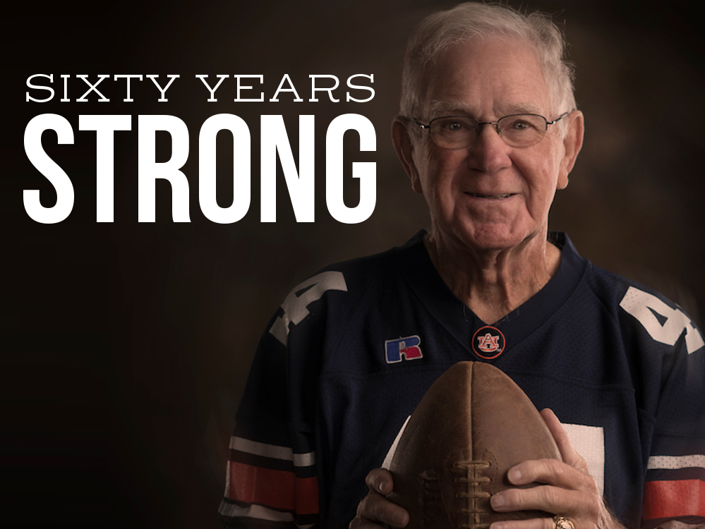 Header for Sixty Years Strong with Lloyd Nix