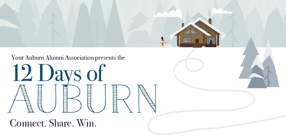 12 Days of Auburn Connect Share Win