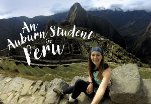 An Auburn Student in Peru