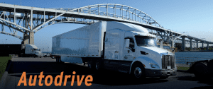 Truck with Autodrive Heading