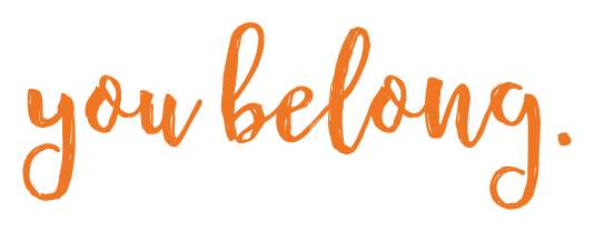 You Belong Type Logo