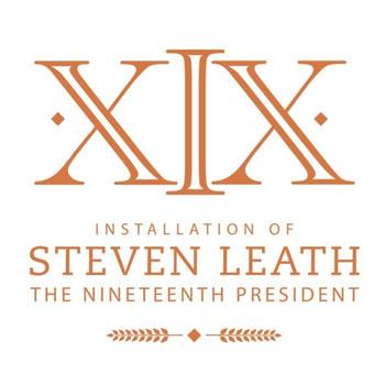Installation of President Leath