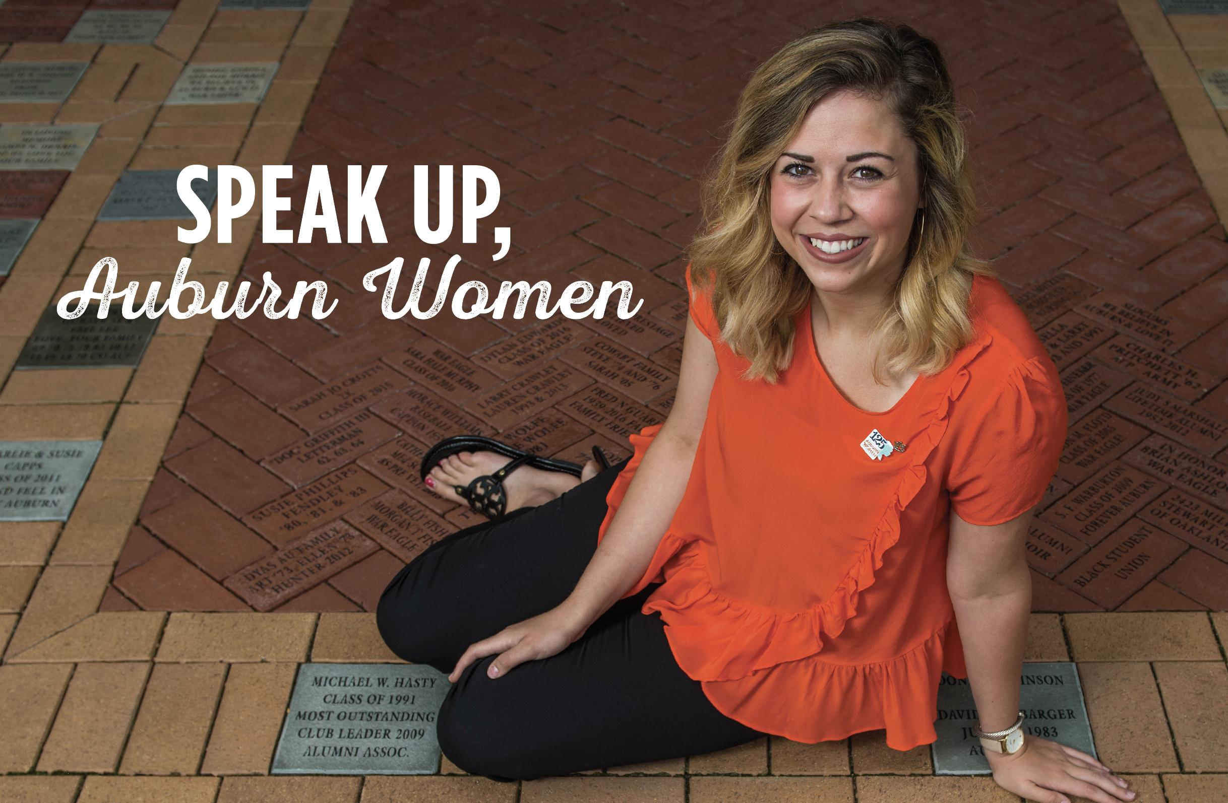 Speak Up, Auburn Women