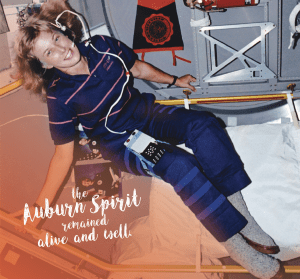 """Jan Davis """"the Auburn Spirit remained alive and well."""""""