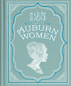 125 Years of Auburn Women book cover with silhouette