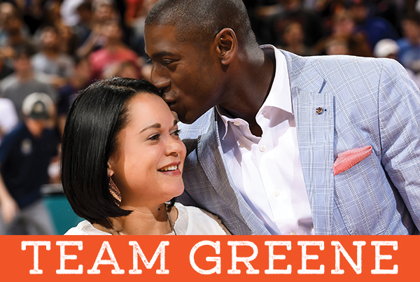 Team Greene, Mr. and Mrs. Greene