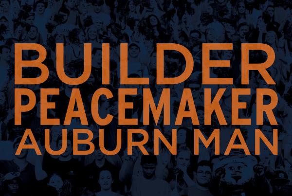 Builder Peacemaker Auburn Man