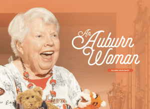 An Auburn Woman: Alumni Snapshot; Helen Leslie '43