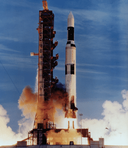 Skylab launch on Saturn V, May 14, 1973