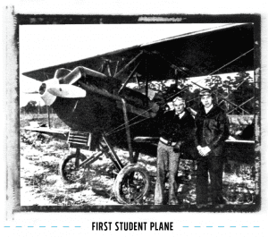 First Student Plane