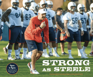 Strong as Steele; Tigers to Tigers Kevin Steele brings his defensive chops from LSU to Auburn; photo of Kevin Steele during practice