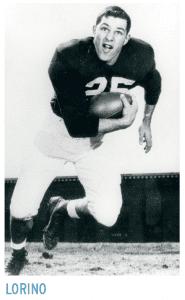 Lorino posing with football