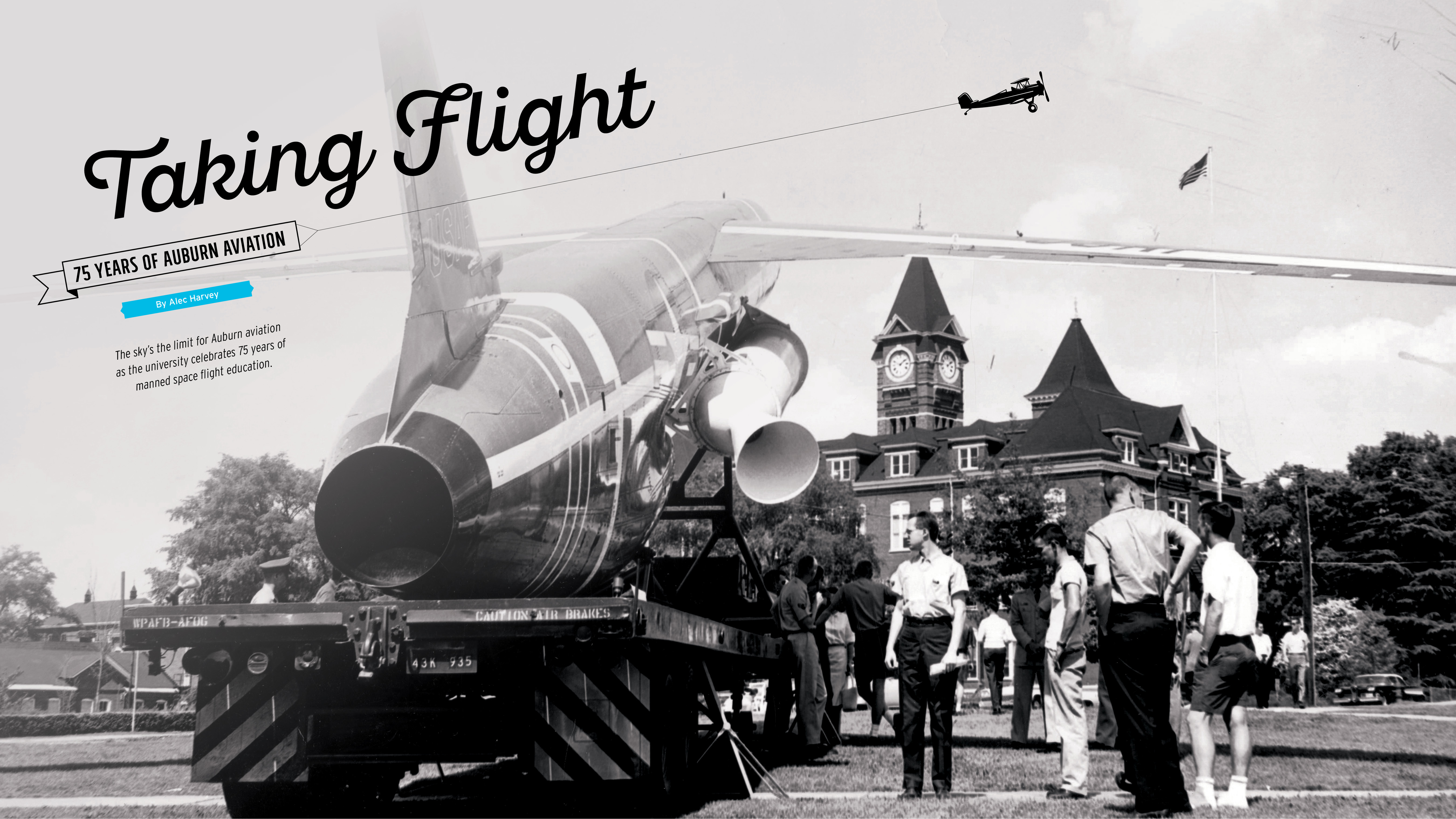 Taking Flight 75 Years of Auburn Aviation | Auburn Alumni