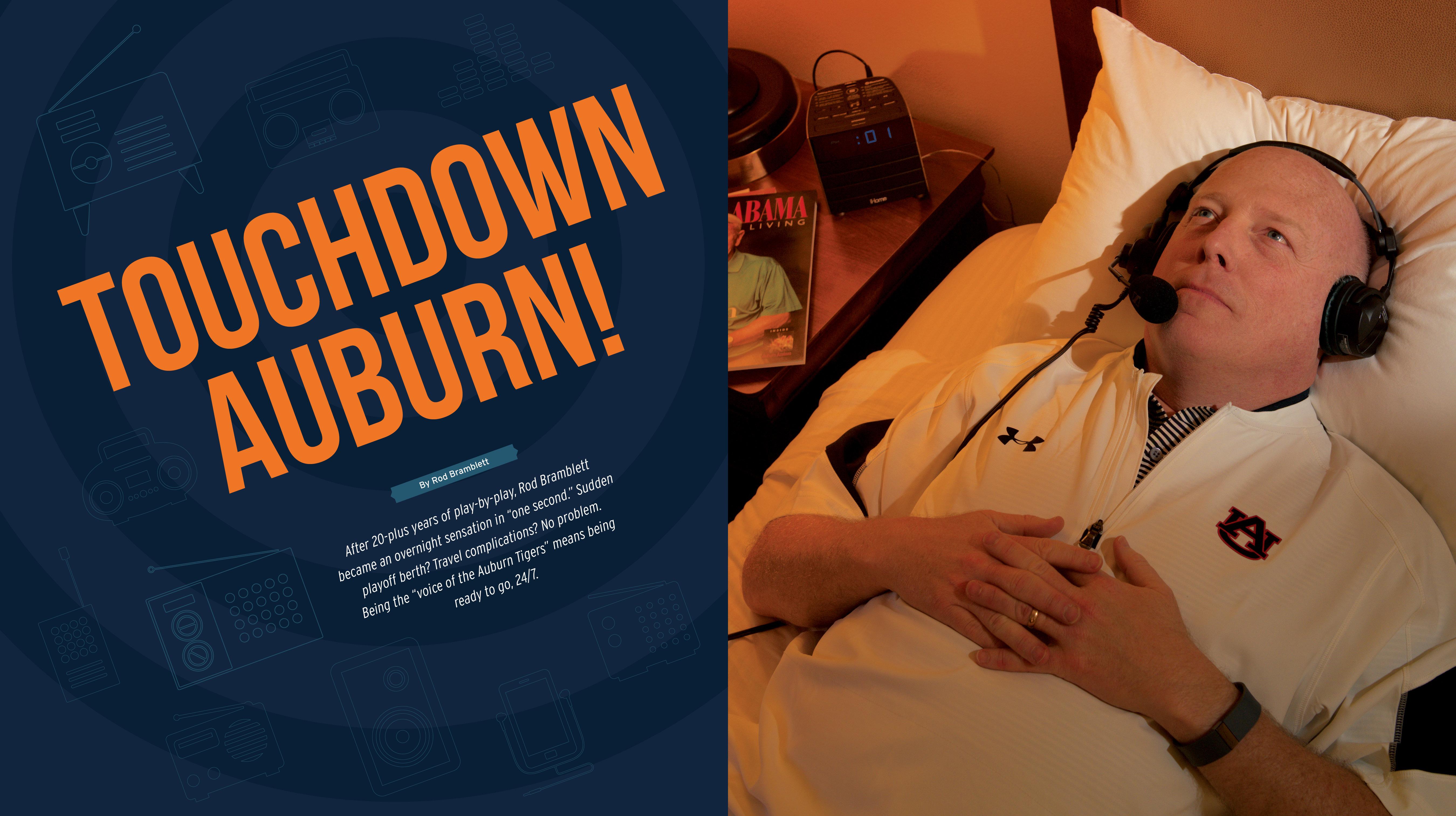 Touchdown Auburn by Rod Bramblett;
