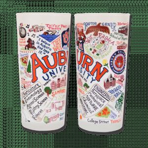 Auburn Designed Frosted Glasses