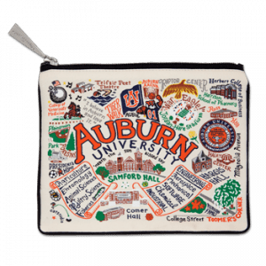 Auburn Embroidered Pouch