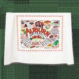 Auburn Embroidered Dish Towel