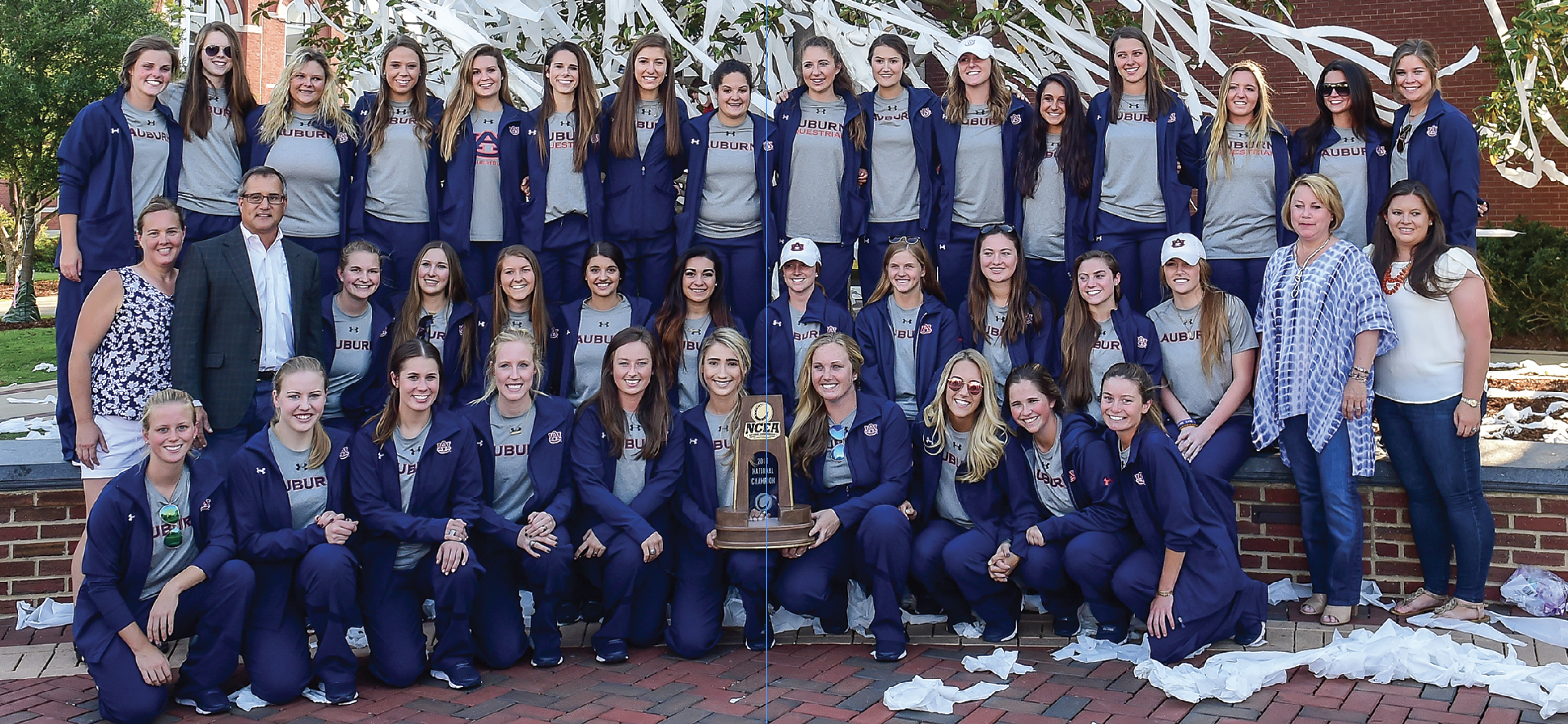 Equestrian Team after 2016 National Championship win