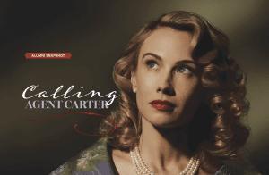 Calling Agent Carter; Alumni Snapshot