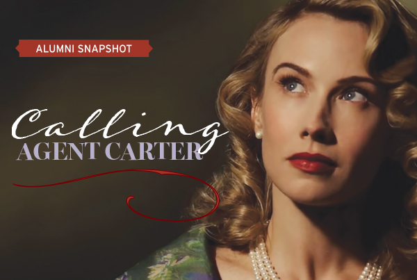 Calling Agent Carter Alumni Spotlight