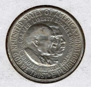 One of the coins Hathaway was commissioned to make.