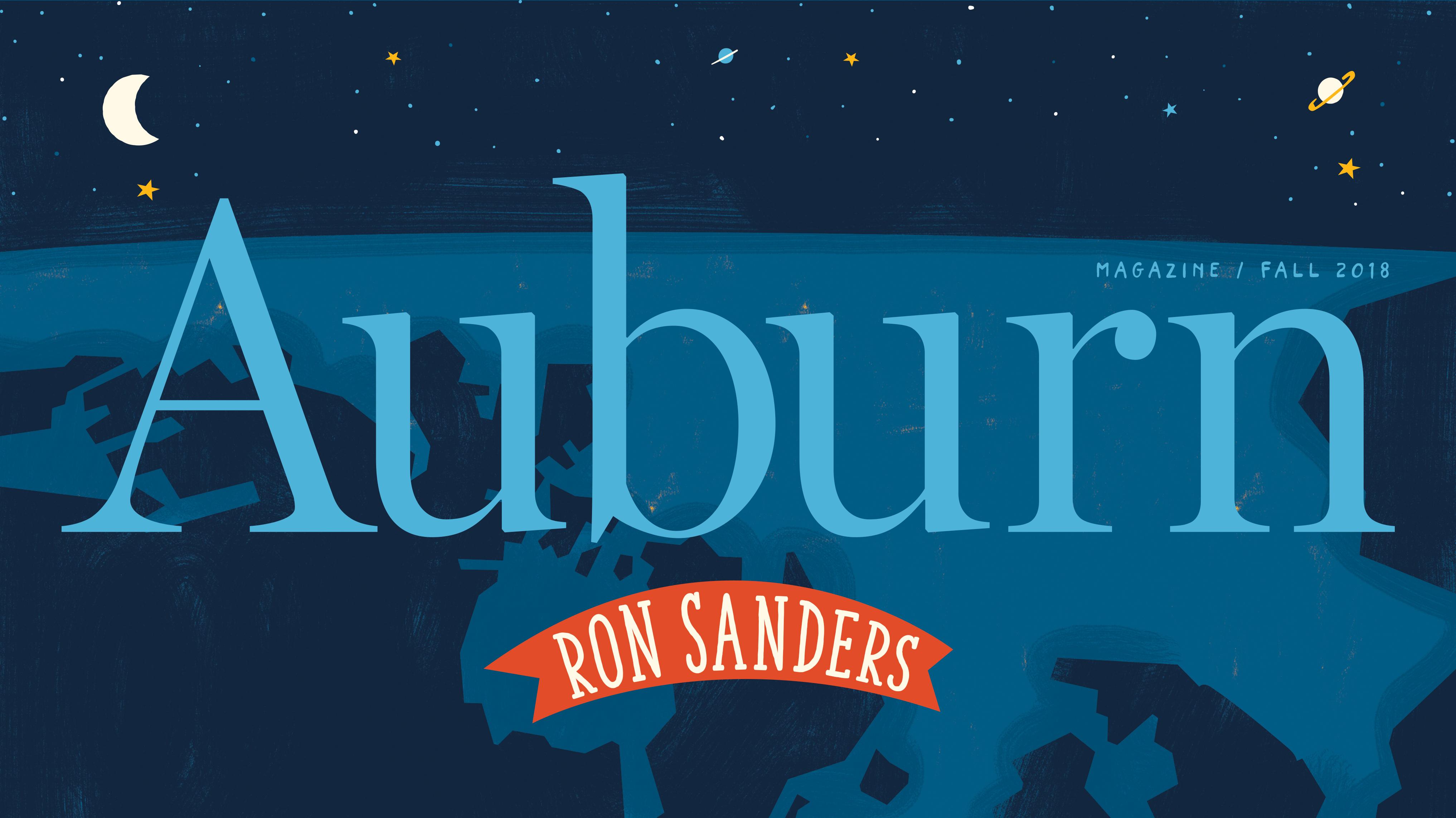 Auburn Magazine / Fall 2018 Ron Sanders