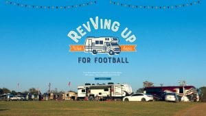 Revving Up for Football; War Eagle; Every home game there's a tailgate at Jill and Mathan Holt's place—one of biggest and best in the SEC. By Amy Gary