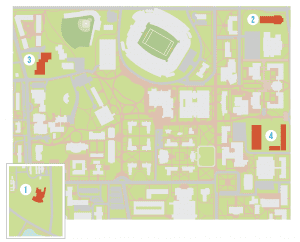 Map of Construction Locations